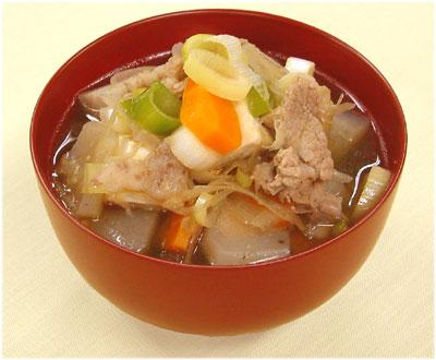 仙台味噌でおいしい豚汁